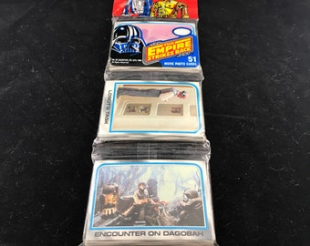 1980 NIP Topps Chewing Gum, Star Wars The Empire Strikes Back; Movie Photo Cards.