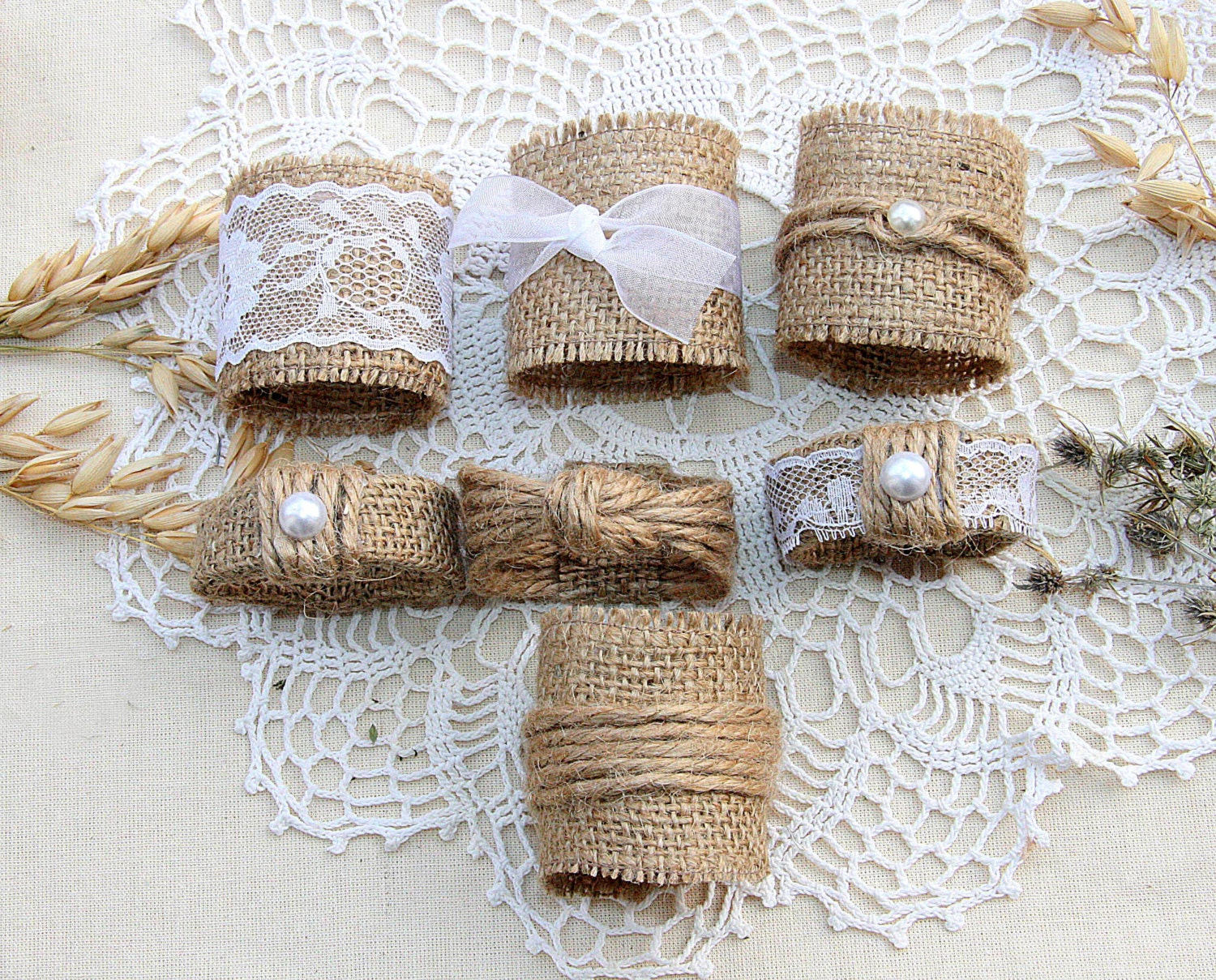 zoom - Wedding Napkin Rings