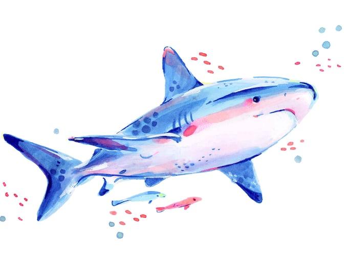 Shark 2 -- Art Print