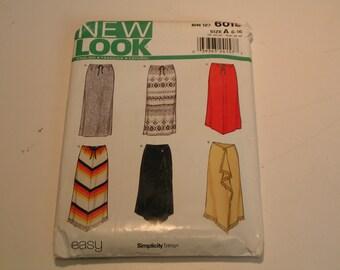 New Look Pattern 6019 Miss Skirt