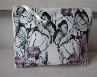 case, toilet bag Pink Butterfly