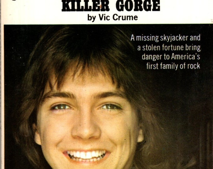 1973 The Partridge Family Thirteen at Killer Gorge Paperback #14 series TV Photo Cover David Cassidy