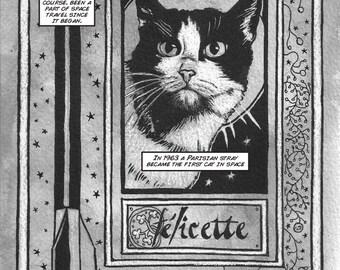 Félicette - Original Comic Page