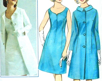Princess Seamed Dress with Coat Bust 31