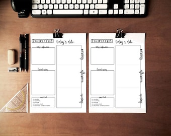 SAVERS - Printable Planner Pages