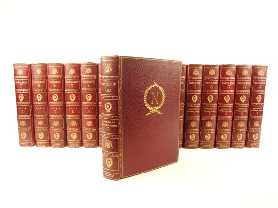 Napoleon, Imperial Edition. 16 volumes. Limited to 10 copies. Fine bindings.