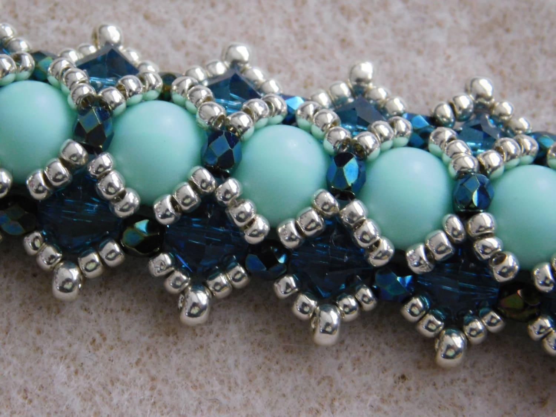 Beaded Bracelet Tutorial, Pattern, Instructions, Beadweaving ...