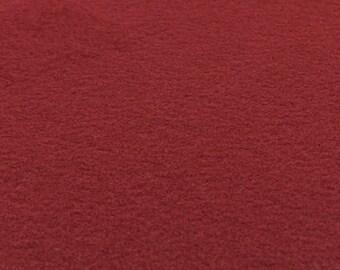 Ruby Red Felt Sheets - 6 pcs - Rainbow Classic Eco Fi Craft Felt Supplies