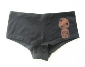 Kodama from Hayao Miyazaki Princess Mononoke hot short panties