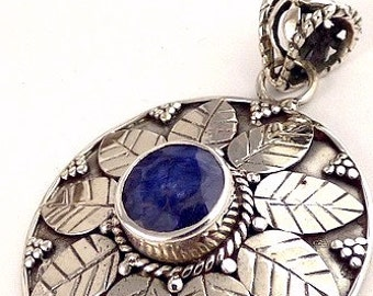 JEWELS in Sapphire, Sapphire earrings retired, natural stone, stone pw34.1 jewelry
