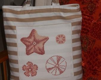 Cotton sea bag.  Tote Bag
