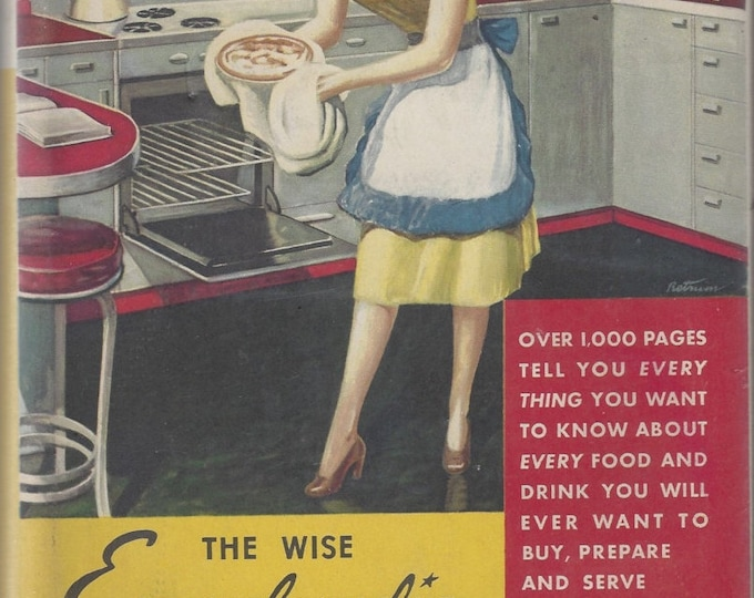 The Wise Encyclopedia of Cookery Vintage 1948 FIRST EDITION