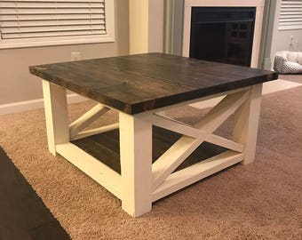 Rustic Coffee Table Fresh In Photos of Painting