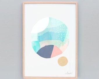 Modern Minimalist Art - Abstract Art, Abstract 102