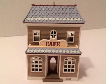 Cafe Hallmark Ornament