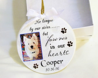Pet Memorial  Pet Ornament Christmas ornament  Memorial Ornament