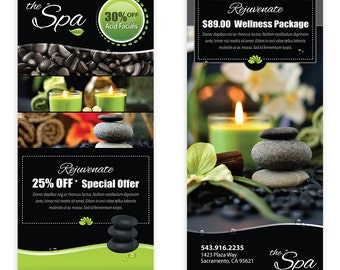 Spa Massage Template Flyer