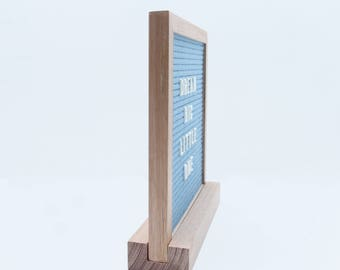 Stand to fit small felt letter board / letterboard