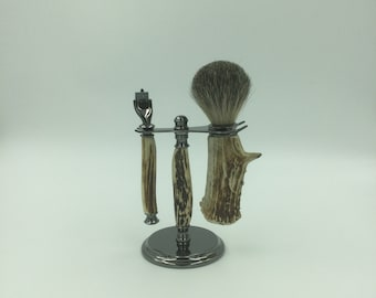 Antler Shaving Set