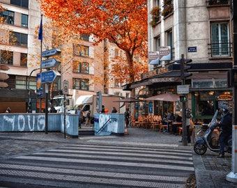 AUTUMN IN PARIS #8 Digital Photo Art Photography