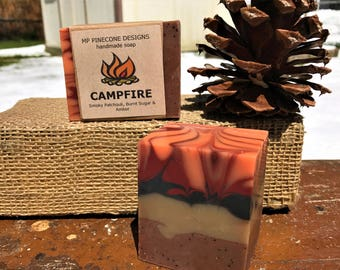 4 handmade soaps INSPIRED BY NATURE