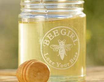 Bee Girl's Teaching Honey 12 oz