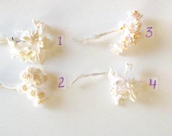 Bridal Silk (Artificial) Floral Pick by Modern Romance