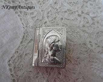 French rosary box/holder depose