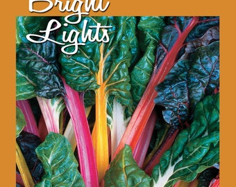 Bright Lights Swiss Chard Seed 100 ct Packet | AAS Award Winner