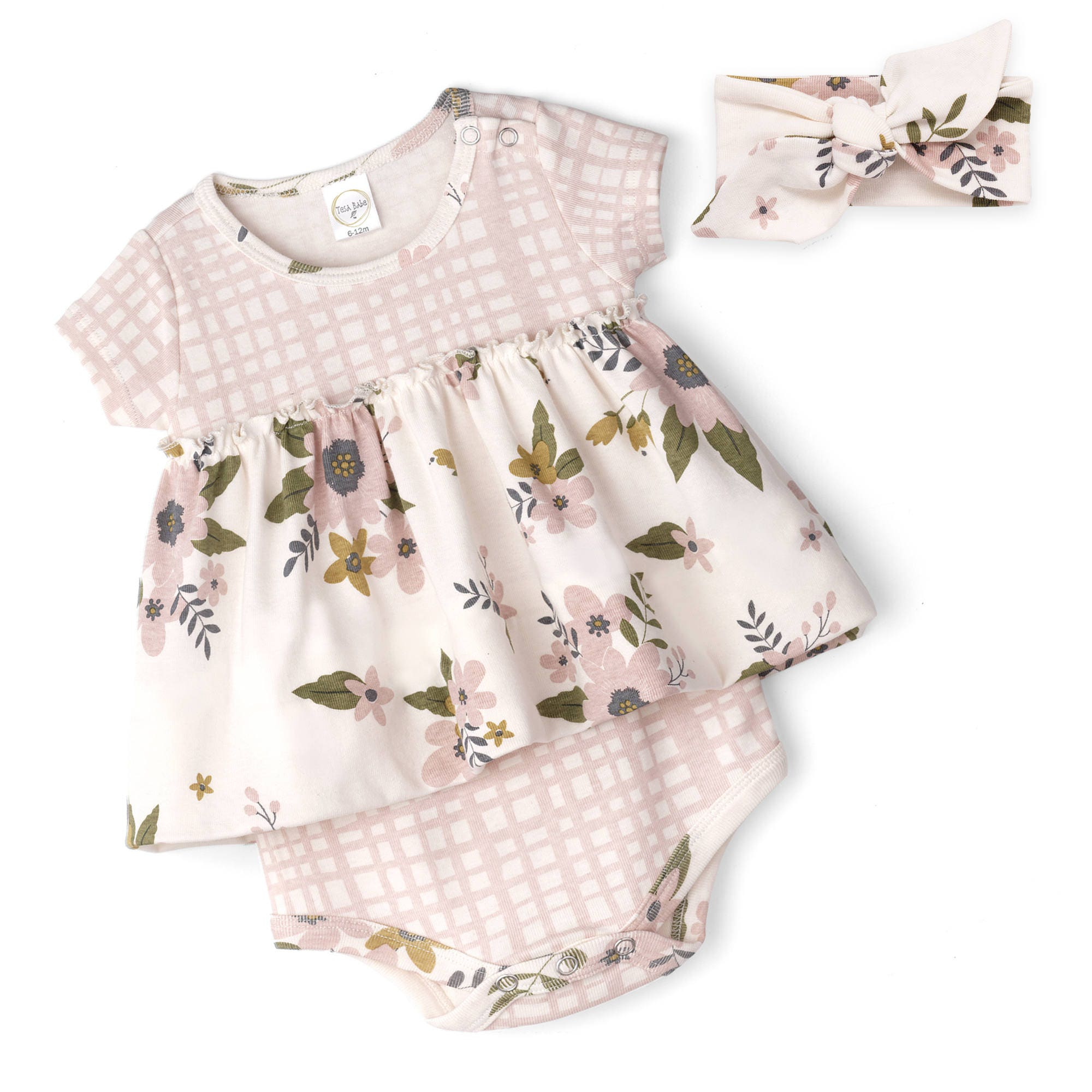 SPRING SALE Baby Girl Dress Outfit Baby esie Bodysuit Dress