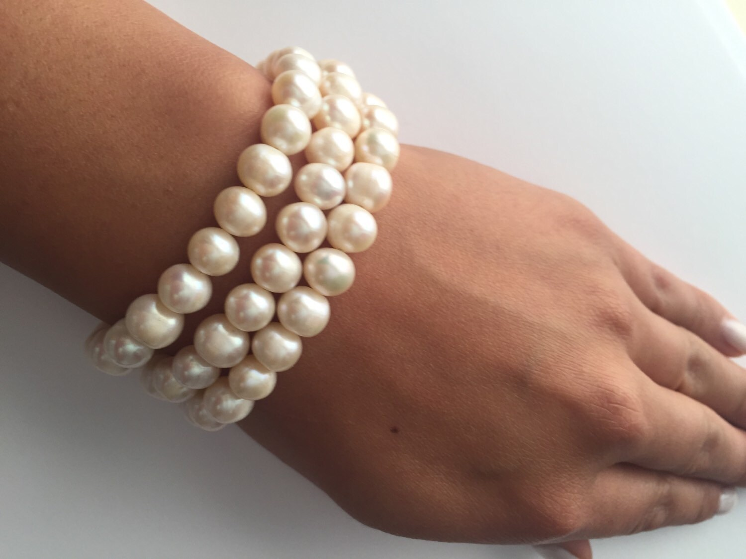forever in bracelet made usa the products pearls kiel infinity patrick anchor james pearl