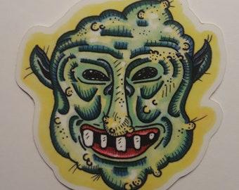 Elvin Melvin Vinyl Sticker