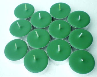 Balsam Fir Scented Soy Tealight Candles Pick A Pack