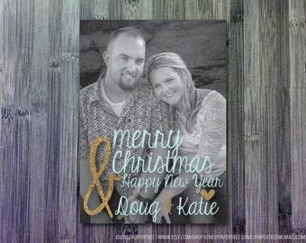 Merry Christmas & Happy New Year - Christmas Photo Card | HC22