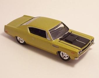 1970 AMC Rebel Machine - Vintage Die Cast Car, 1/64th scale by Johnny Lightning