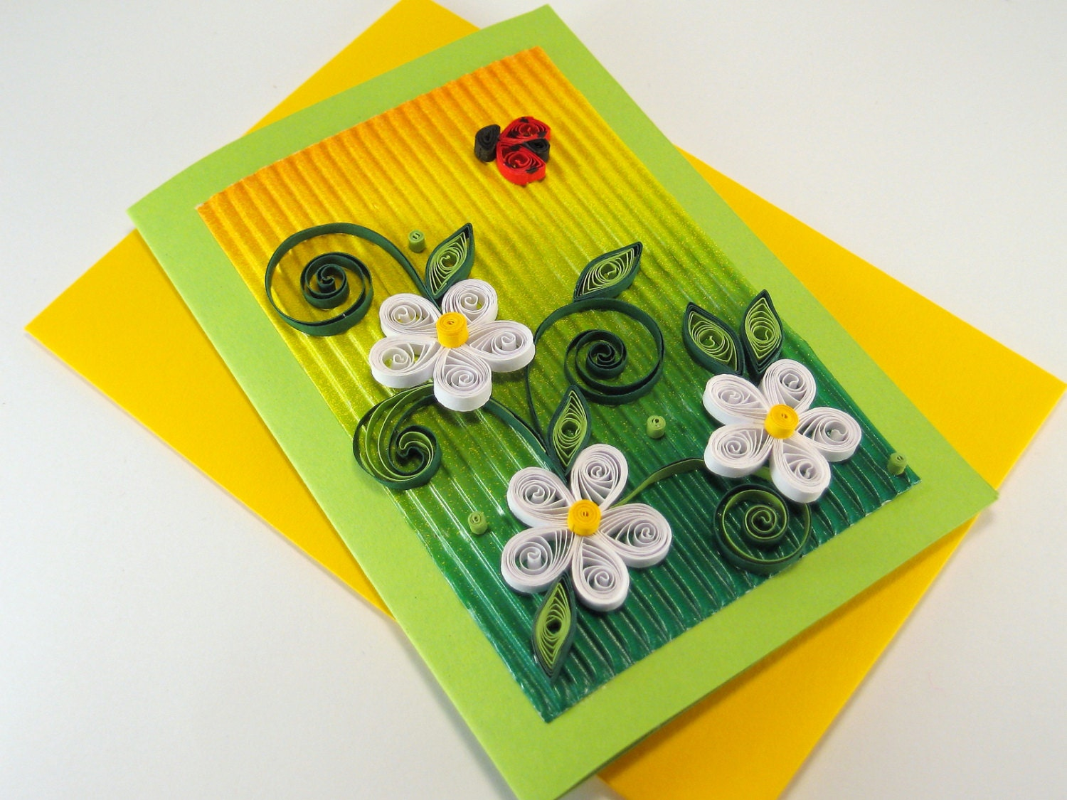 Quilling birthday card white quilling flowers beautiful zoom stopboris