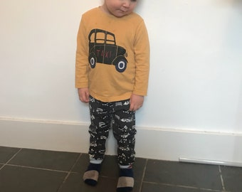 Boys and girls leggings and hat sets