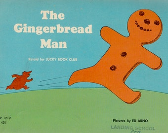 The Gingerbread Man - illustrated by Ed Arno