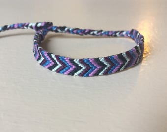 Friendship Bracelet, Embroidery Floss Bracelet
