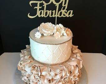 50th birthday cake Etsy