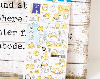 Sumikkogurashi Kawaii Stickers | Sumikkogurashi stickers set A  Life Planner, Daily Diary Journal decorations.