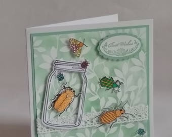 Stampin Up! Best Wishes Greetings Card