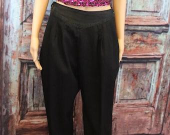 Black Tuxedo Pants - Adjustable Sizes - One size fits most