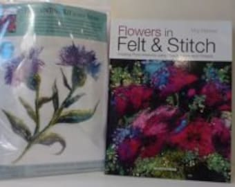 Thistle -  Felt Kit & Book offer