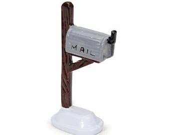 "MailBox, 2.5"" x 1.5"" -  Miniature Fairy Garden Dollhouse"