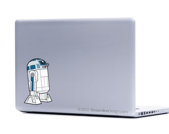 Star Wars R2-D2 Vinyl Laptop Decal | iphone decal star wars laptop macbook decal laptop decal stickers for laptop car window sticker r2d2
