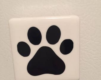 Paw Print Magnet