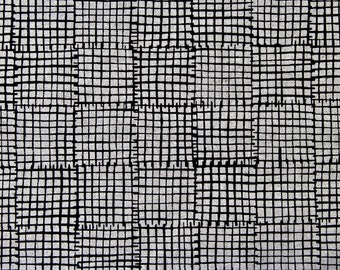 Maker Maker Collection Grid on Tailored Cloth Sarah Golden for Andover Fabrics