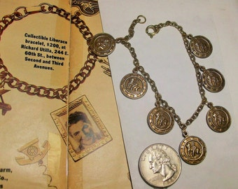 1930s Neptune Charm Bracelet ~ Return to Another Era When Hollywood was Young