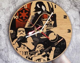 Darth Vader gifts, Darth Vader clock, Darth Vader birthday, Darth Vader decor, Darth Vader yoda, Darth Vader wall art, Darth Vader baby
